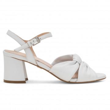 sandals woman carmens a43022gloria bow bianco 4859