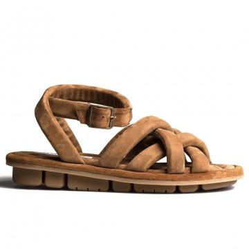 sandals woman oa non fashion a26evolo cognac 8538