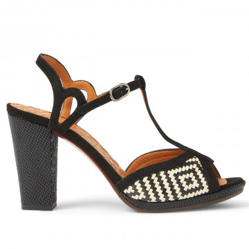 sandals woman chie mihara abalmei negro 8556