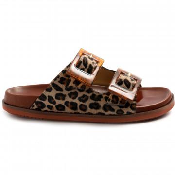 sandals woman viola ricci j142leo whiskey 8573