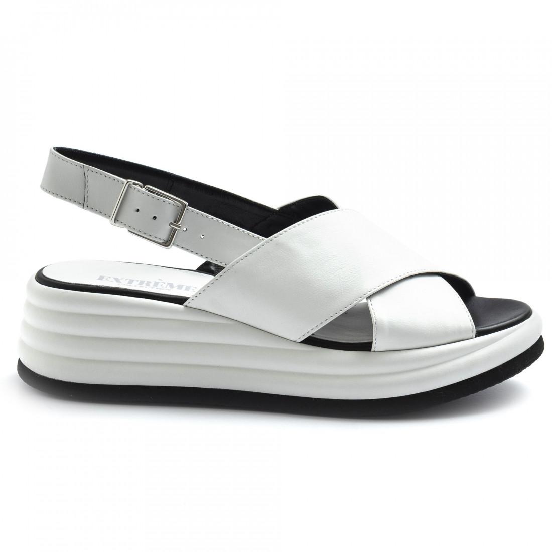 sandalen damen extreme 1908janvit bianco 8582