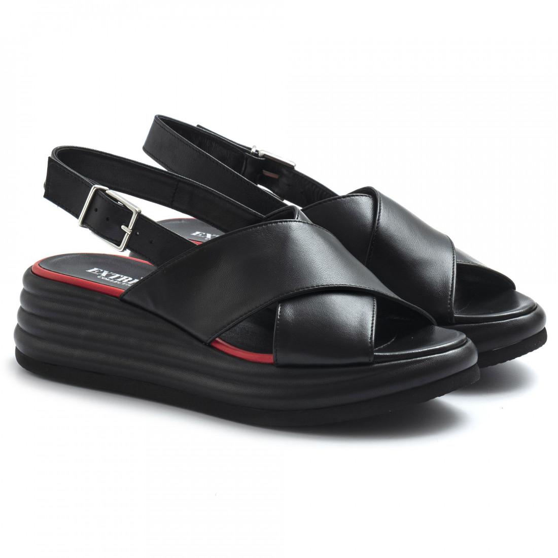 sandals woman extreme 1908jannappa nero 8584