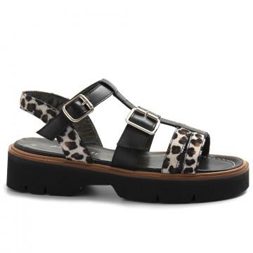sandals woman alfredo giantin 7067leo bianco 8609