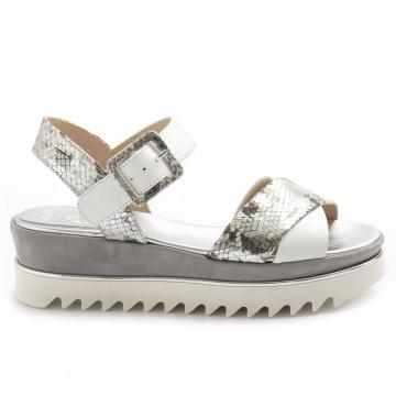sandals woman luca grossi b928smonte bianco 8613