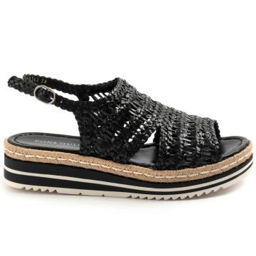 sandals woman pons quintana 834009 negro 8645