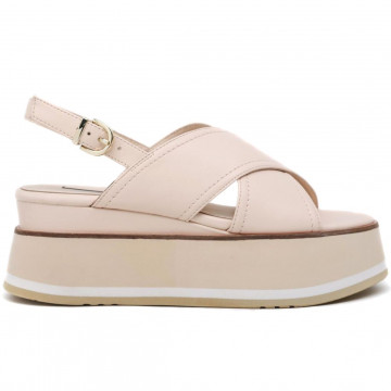 sandals woman jeannot gj504c nappa nude 8691