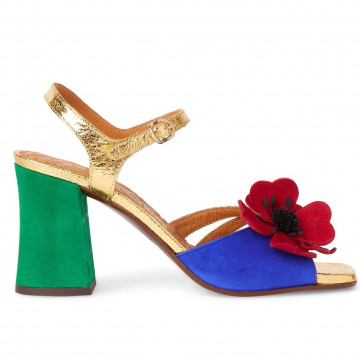 sandals woman chie mihara pirocatana gold 8555