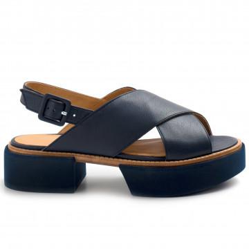 sandalen damen paloma barcelo jacuilight blue inchiostro 8434