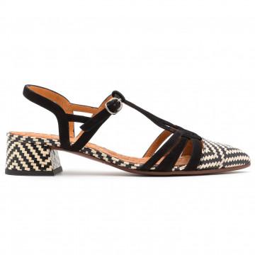 sandalen damen chie mihara rosalimei negro 8552