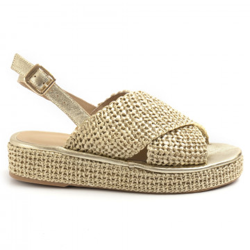 sandals woman fiorina  s148j533 jess platino 8719