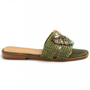 sandals woman fiorina  s189528 jessica verde 8757
