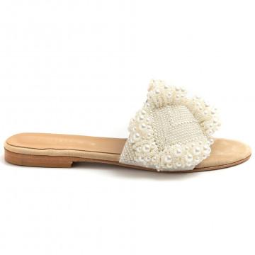 sandals woman fiorina  s190459 perle bianco 8758