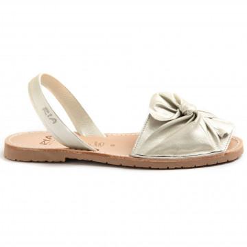 sandals woman ria menorca 27167metalgrain pearl 8769