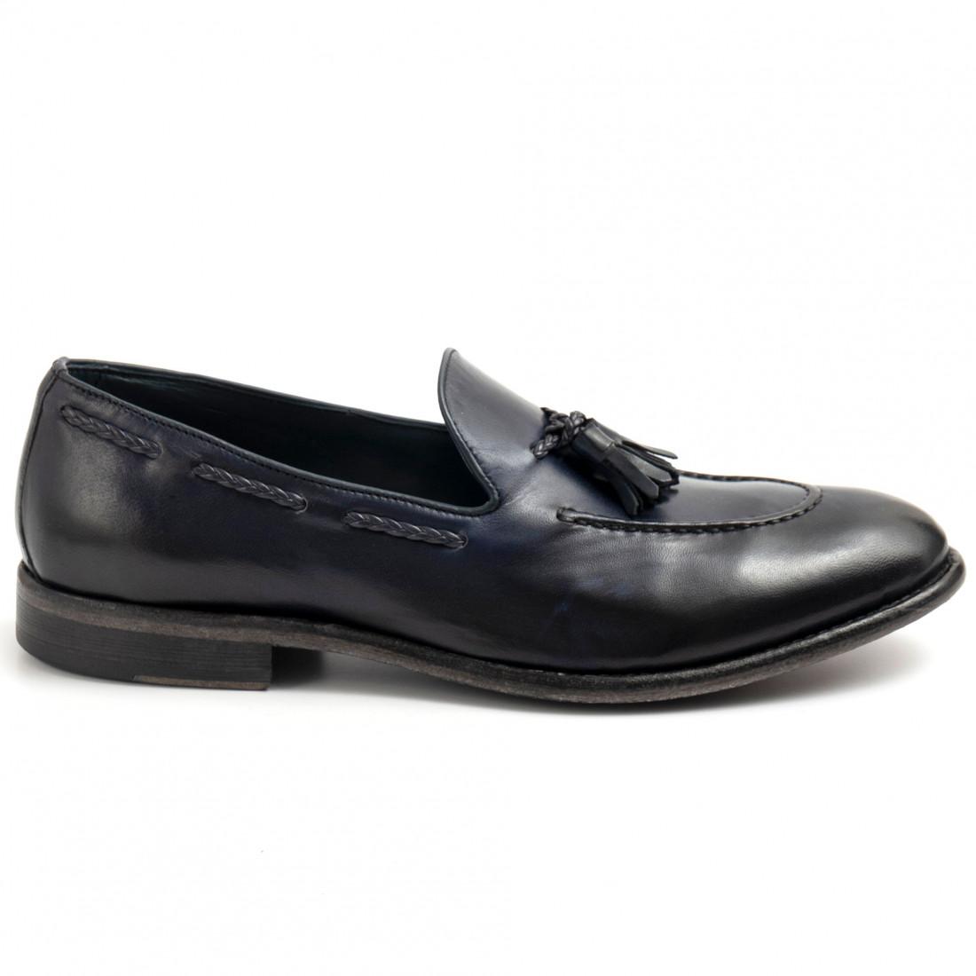 loafers man calpierre k018anil blu navy 8717