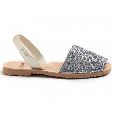 sandalen damen ria menorca 21224glitter c39 8750