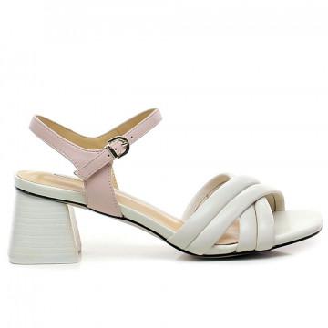 sandals woman jeannot gj463b nappa sasso cipria 8678