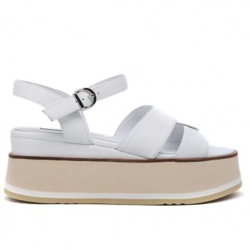 sandals woman jeannot gj501b nappa bianco 8690