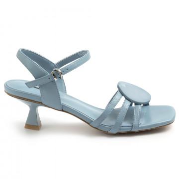 sandals woman jeannot gj443j nappa jeans 8677
