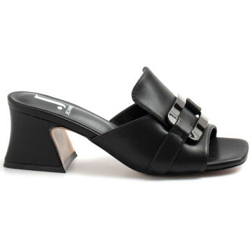 sandals woman jeannot gj424a nappa nero 8783