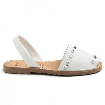 sandals woman ria menorca 27810velvet blanco 8782