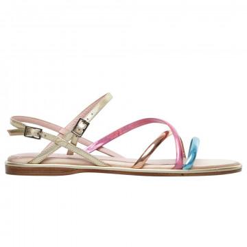 sandals woman lella baldi lt013specchio iride cielo 8791