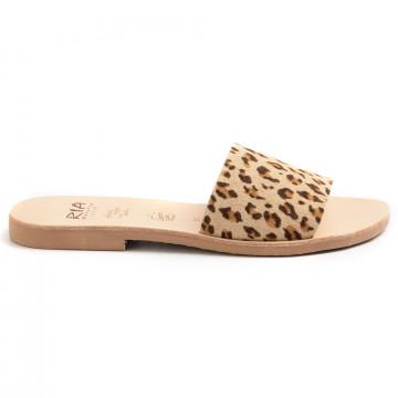 sandals woman ria menorca 40302kid leopardo capuchino 8770