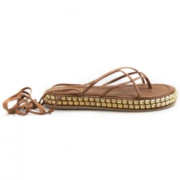 sandalen damen cecile 2464nappa soft tan 8797