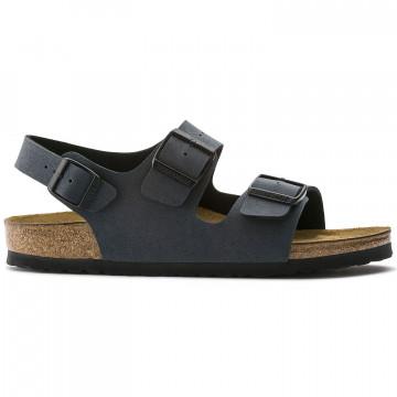 sandals man birkenstock milano m634513 basalt 8813