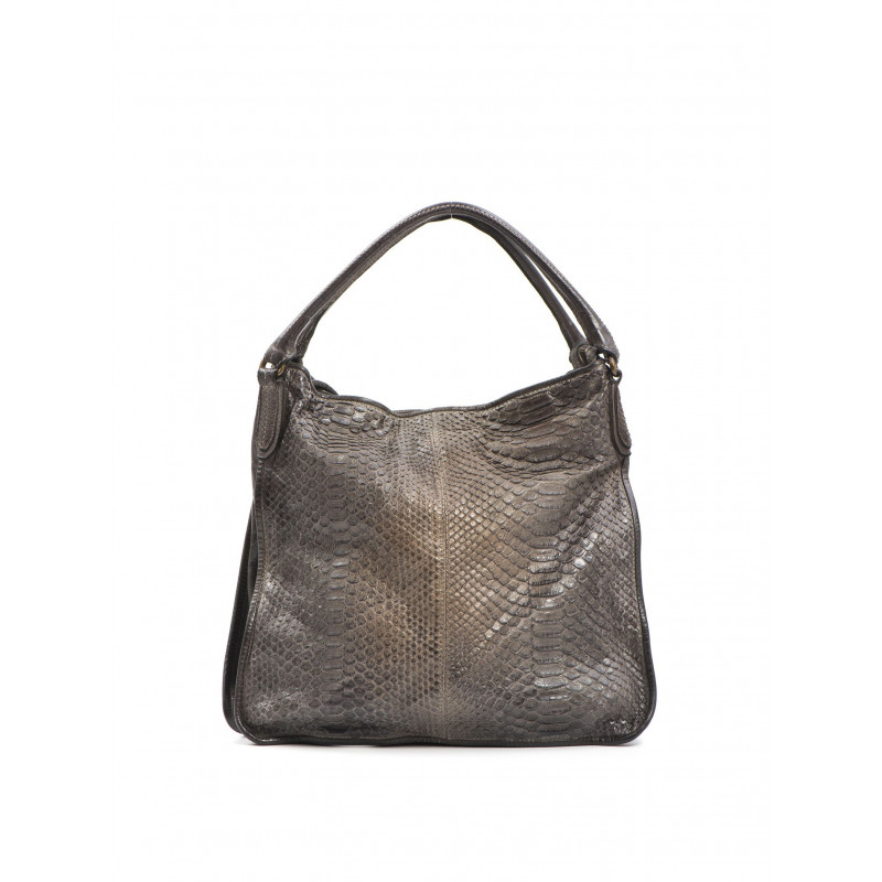 handbags woman reptiles house h 315 pitone sm taupe 463