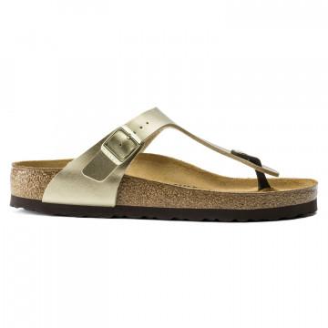 sandalen damen birkenstock gizeh w1016108 gold 8872