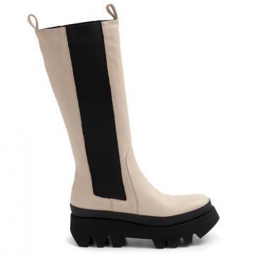boots woman paloma barcelo bibinapasoft ivory 8894