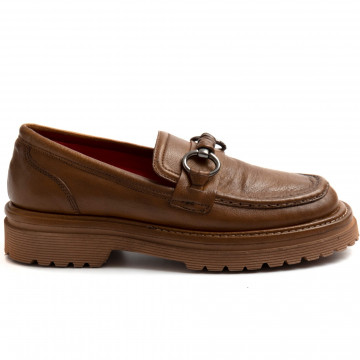 loafers woman zoe full 04bufalo cuoio 8897