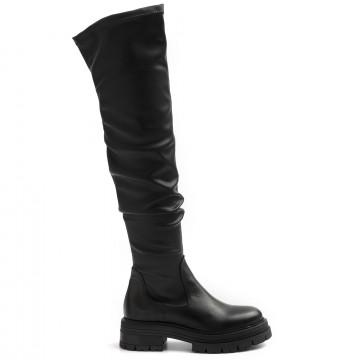 boots woman les tulipes 2010vitello neroelasticizzato 8910