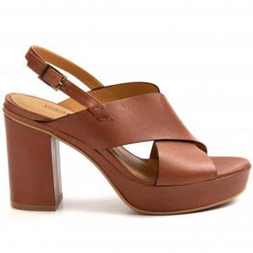 sandals woman silvia rossini 215zefiro cuoio 8934