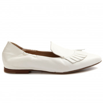 loafers woman rossano bisconti 138 39glove bianco 8935