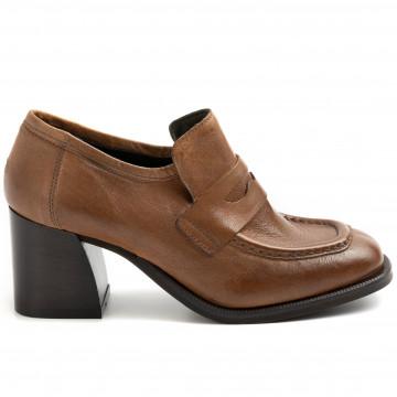 loafers woman zoe leeds 01bufalo cuoio 8948